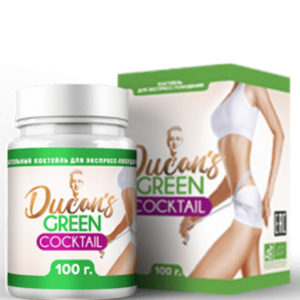 Зелёный-коктейль-Дюкана-купить